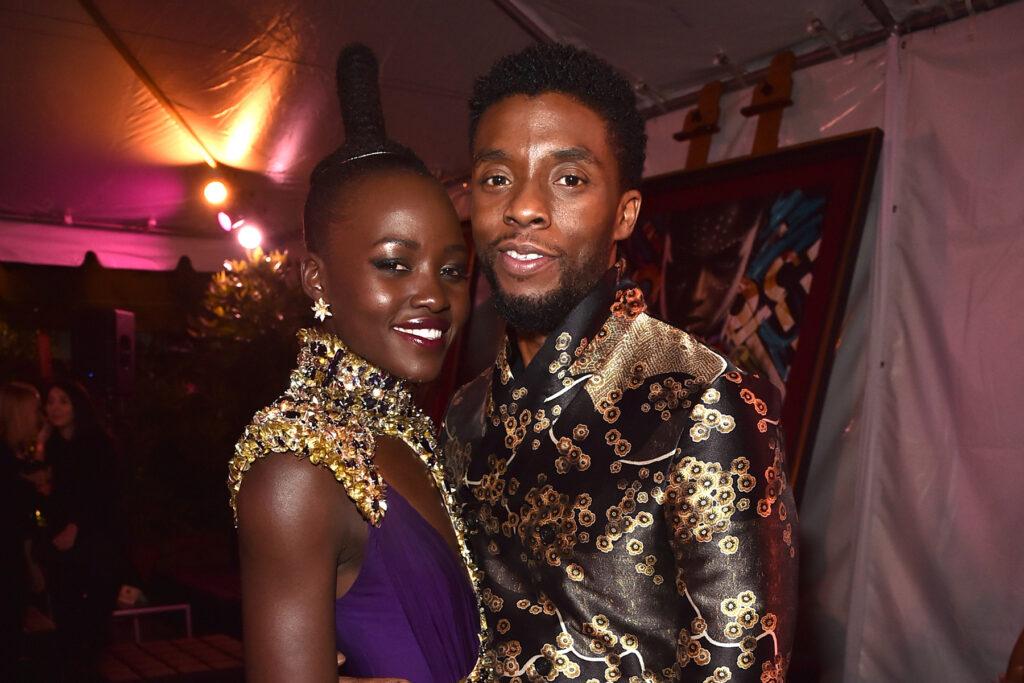 Chadwick Boseman Lupita Nyong'o Marvel