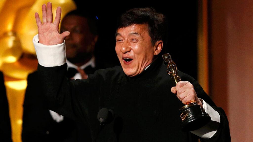 Jackie Chan Hollywood Iron Mask