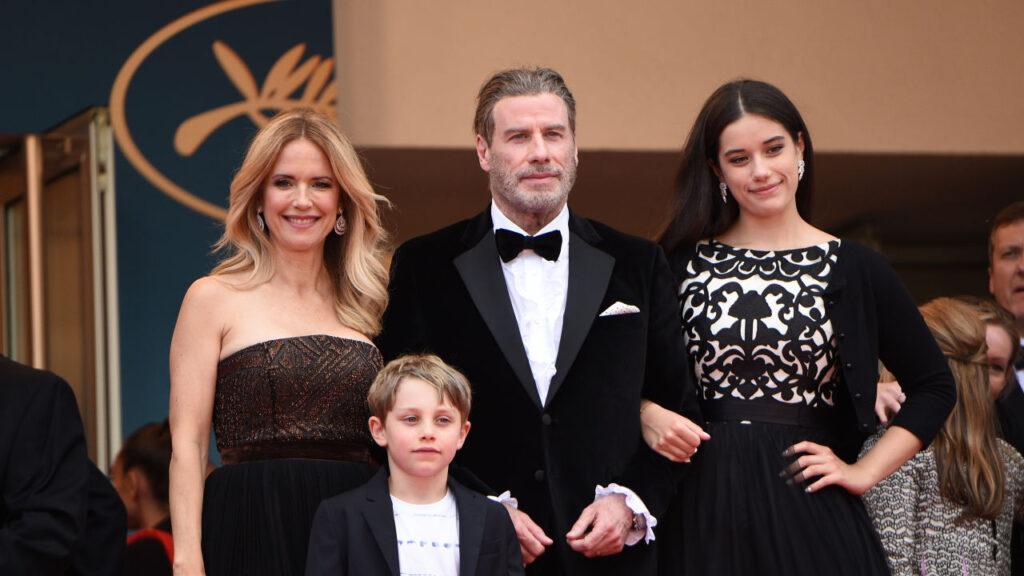 John Travolta y familia