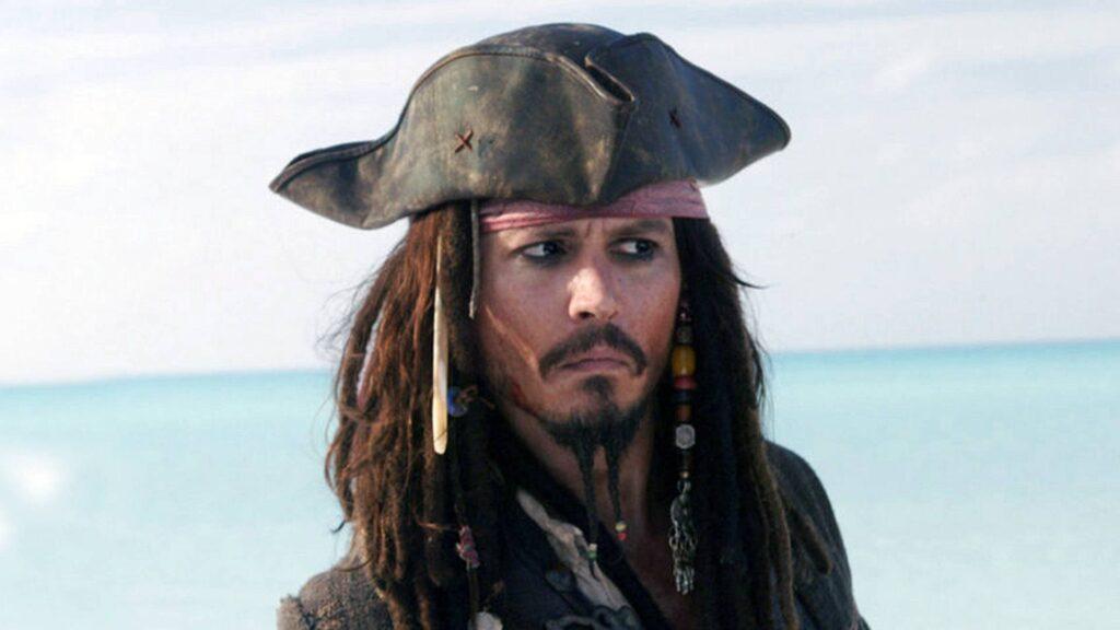 Jack Sparrow Piratas del Caribe Johnny Depp