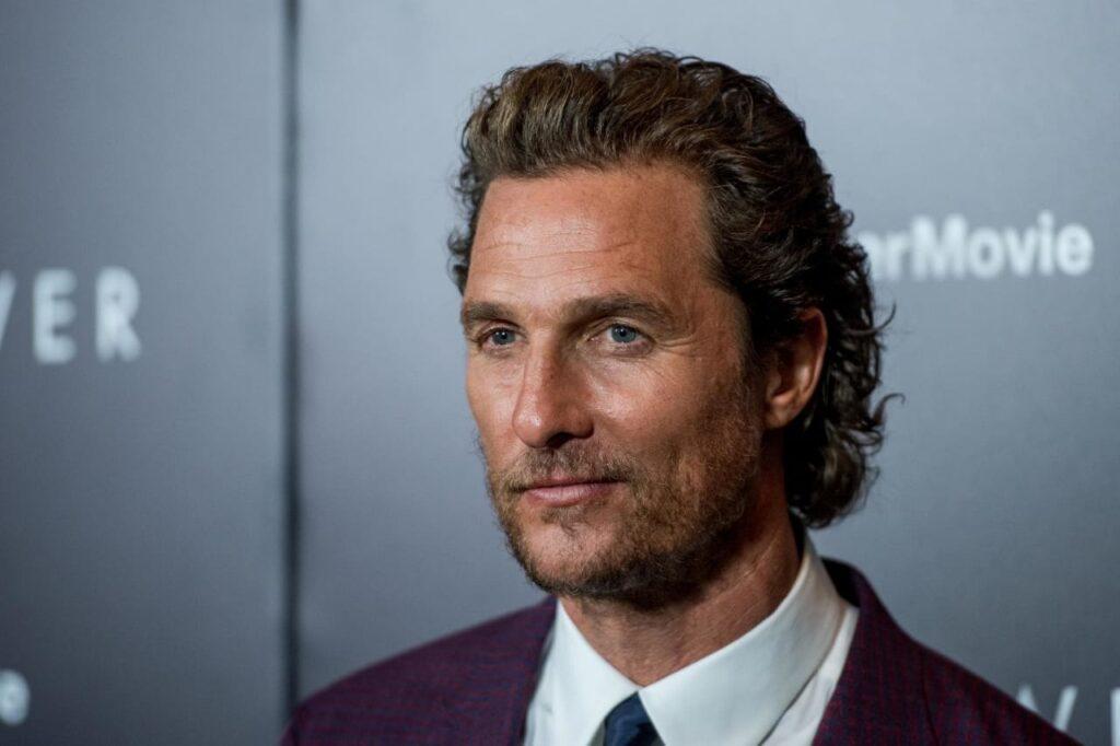 Matthew McConaughey abuso sexual libro  Greenlights