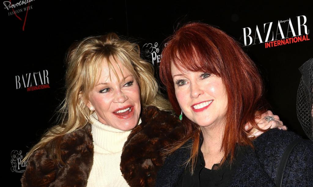 Melanie y Tracy Griffith
