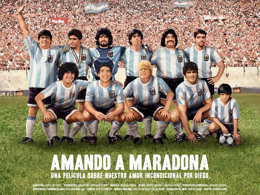 Los mejores documentales y películas sobre Diego Maradona