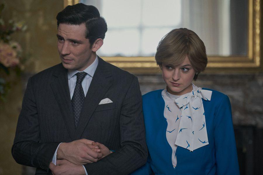The Crown Charles y Diana