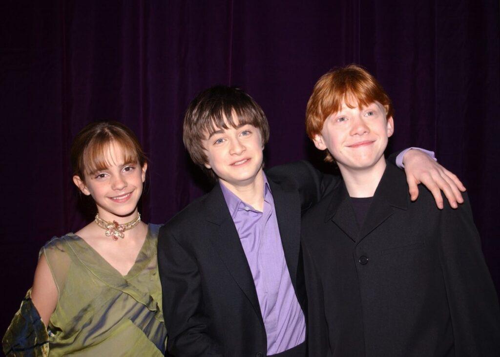 Harry Potter Emma Watson Daniel Radcliffe Rupert Grint
