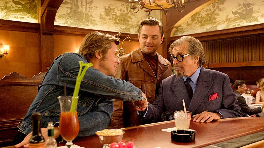 Once upon a time in Hollywood Brad Pitt Leonardo DiCaprio Al Pacino