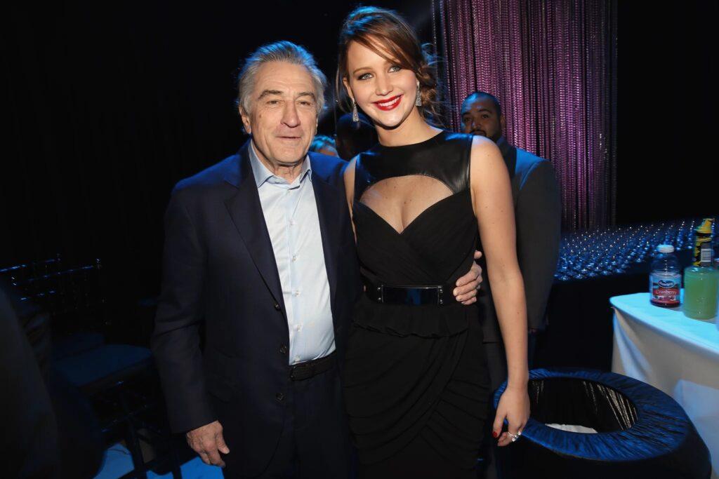 Jennifer Lawrence Robert De Niro