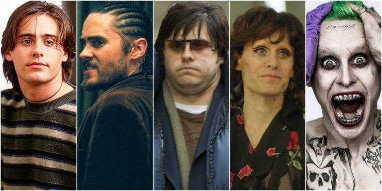 Los actores más camaleónicos de Hollywood jared leto