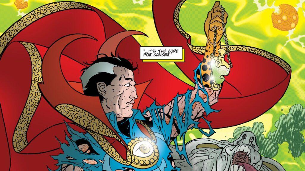 Cintas de Marvel que nunca saldrán a la luz doctor strange
