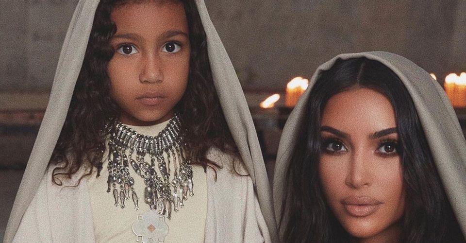 Kim Kardashian y North