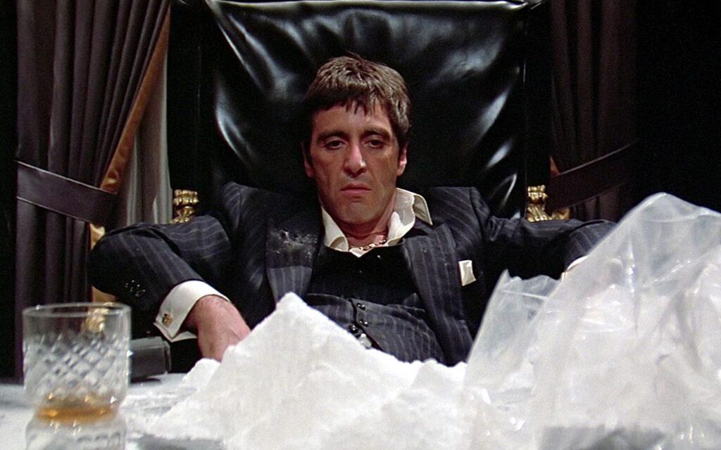 ¿Cómo sustituyen las drogas en el cine? scarface