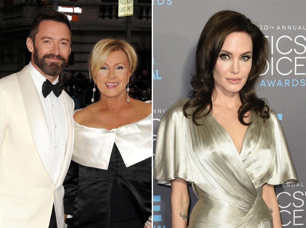 Hugh Jackman y Angelina Jolie