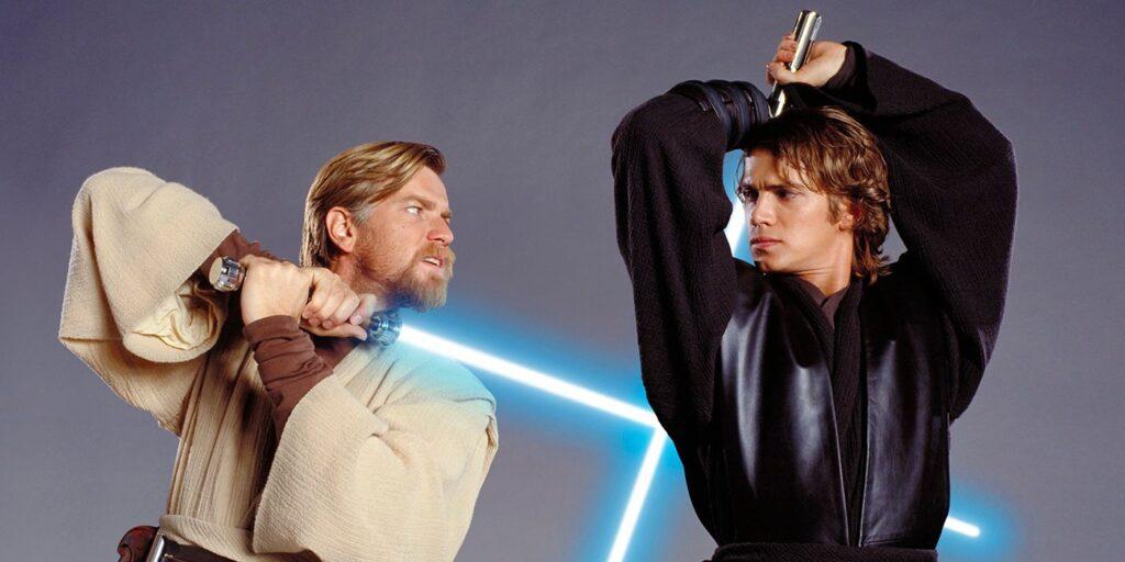 Star Wars Anakin Skywalker y Obi-Wan Kenobi