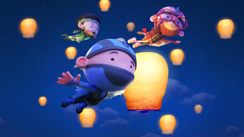 Las series que llegan a Netflix en enero hola, ninja