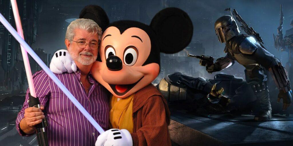 George Lucas y Disney