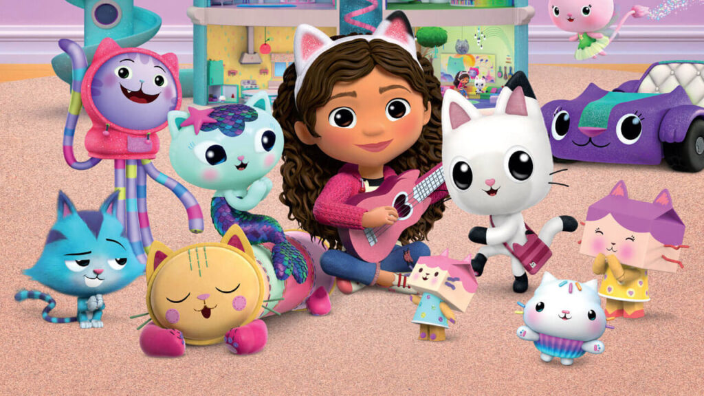 Las series que llegan a Netflix en enero la casa de muñecas de gabby