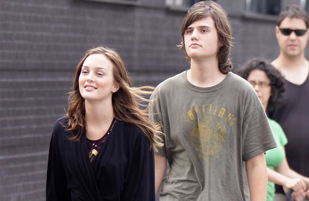 Leighton Meester et son frère