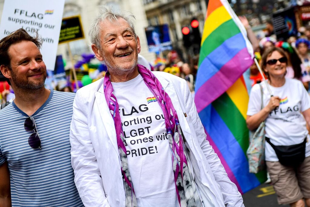 Ian McKellen LGBT