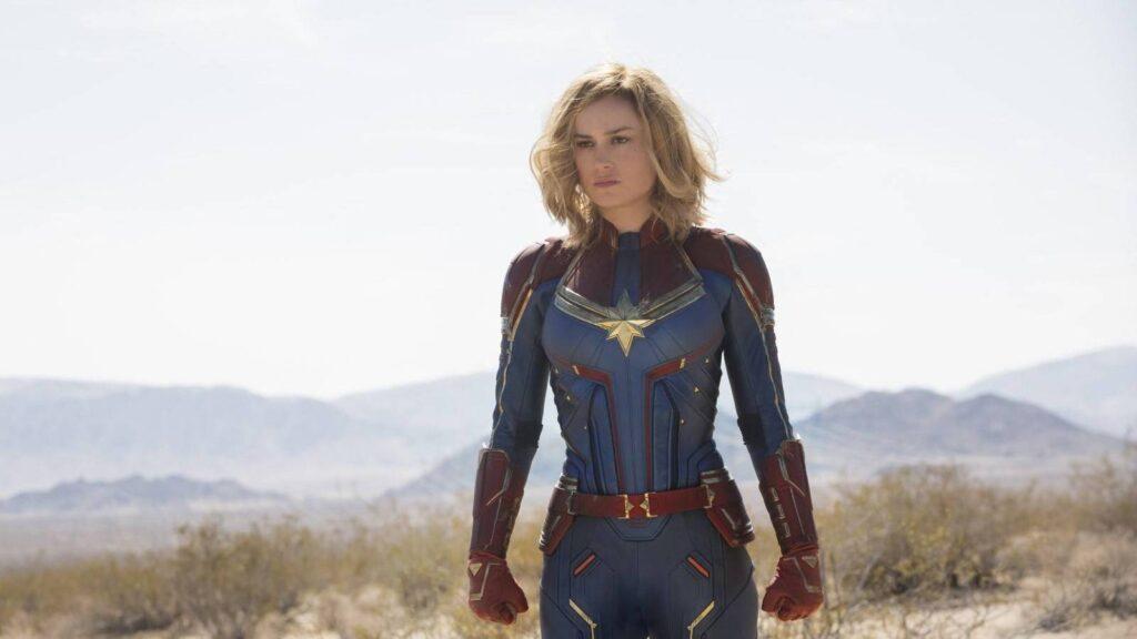 Capitana Marvel Brie Larson