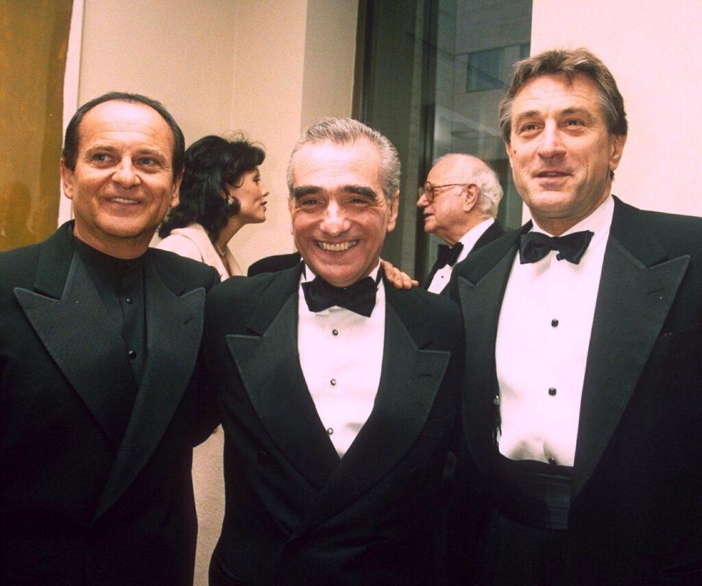 Joe Pesci, Robert De Niro y Martin Scorsese