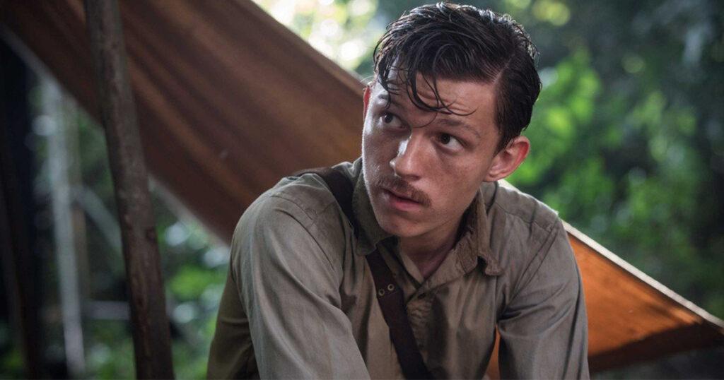 Tom Holland como Nathan Drake en Uncharted