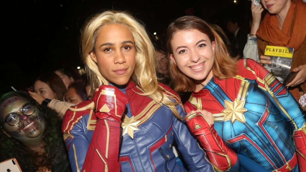 """Capitana Marvel 2"": Zawe Ashton"