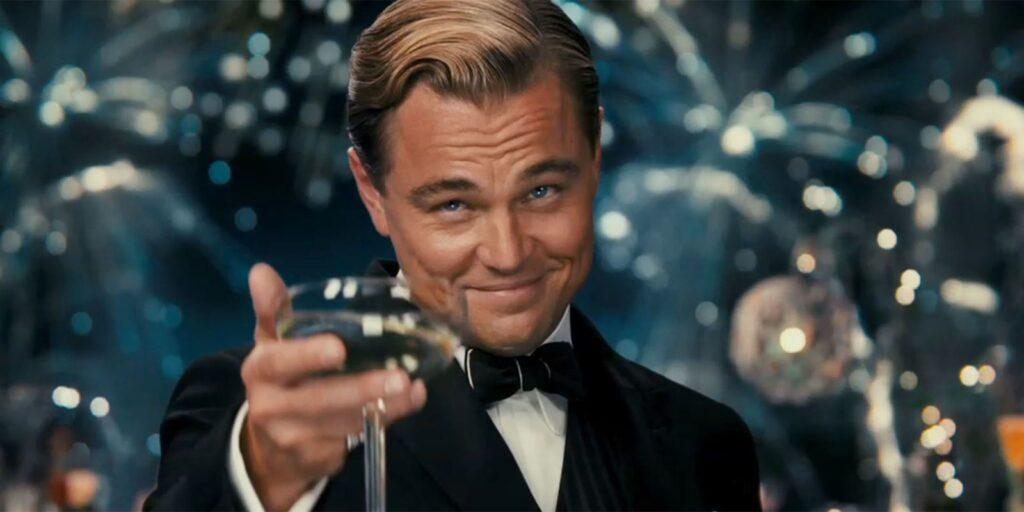 Leonardo DiCaprio en El Gran Gatsby de Baz Luhrmann