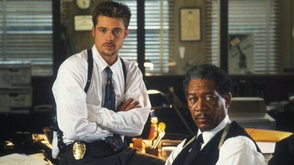 Brad Pitt y Morgan Freeman