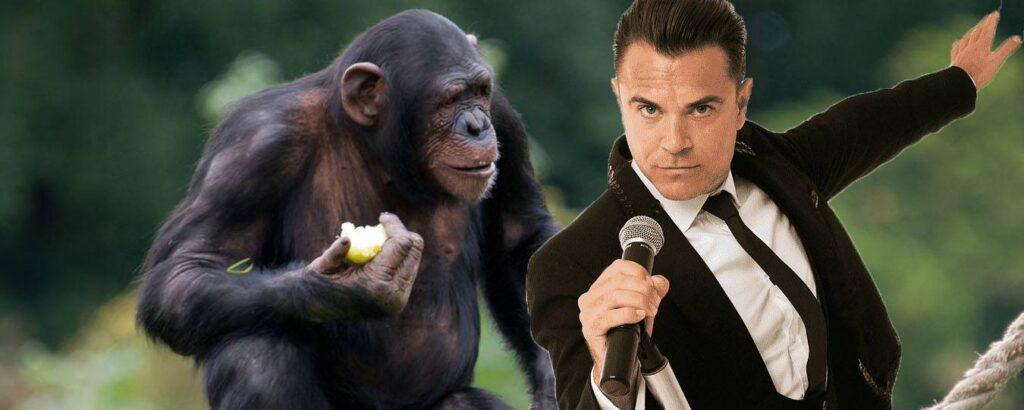 mono y Robbie Williams