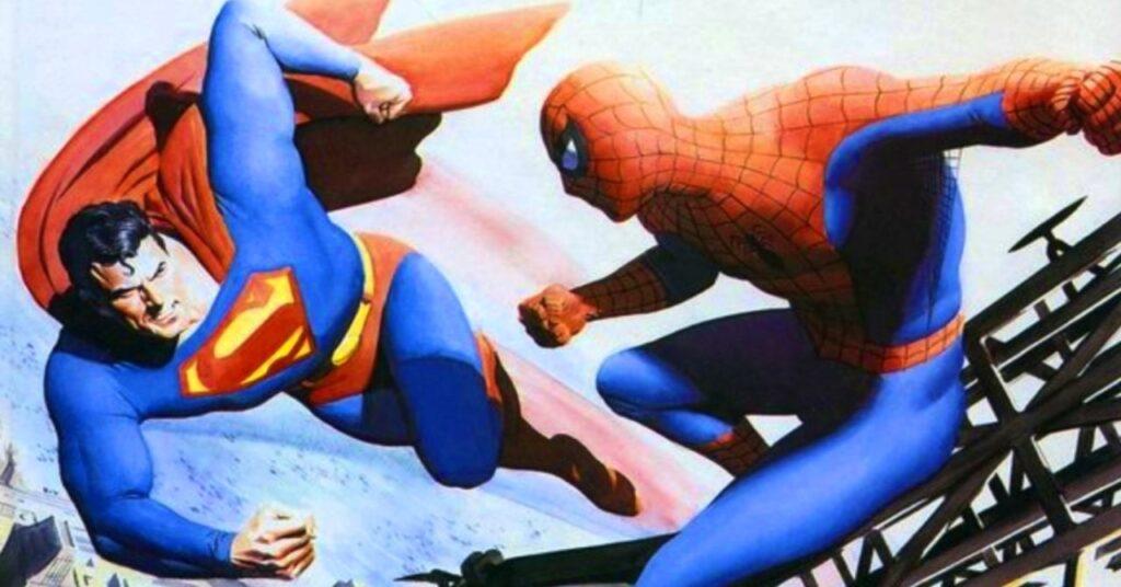 Superman y Spider-Man