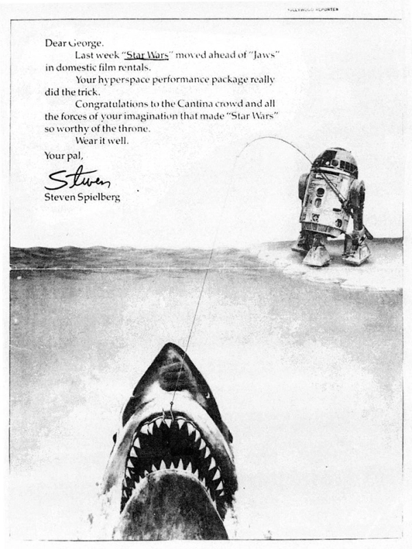 steven spielberg tiburon star wars