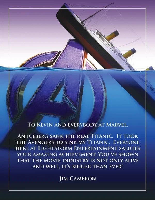 avengers titanic