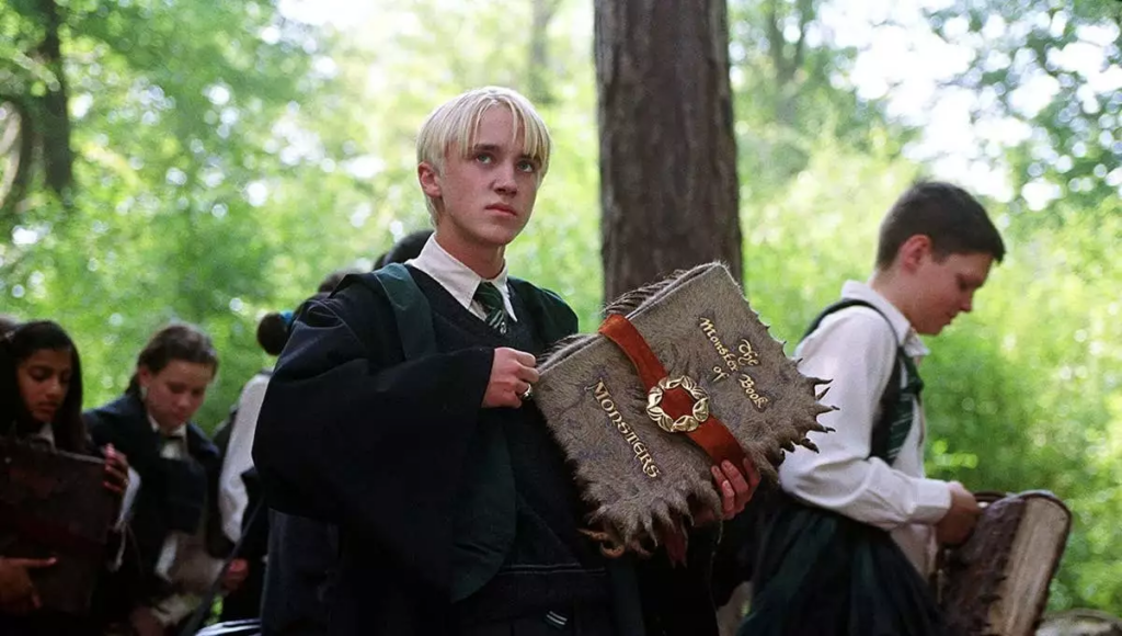 Tom Felton as Draco Malfoy Harry Potter