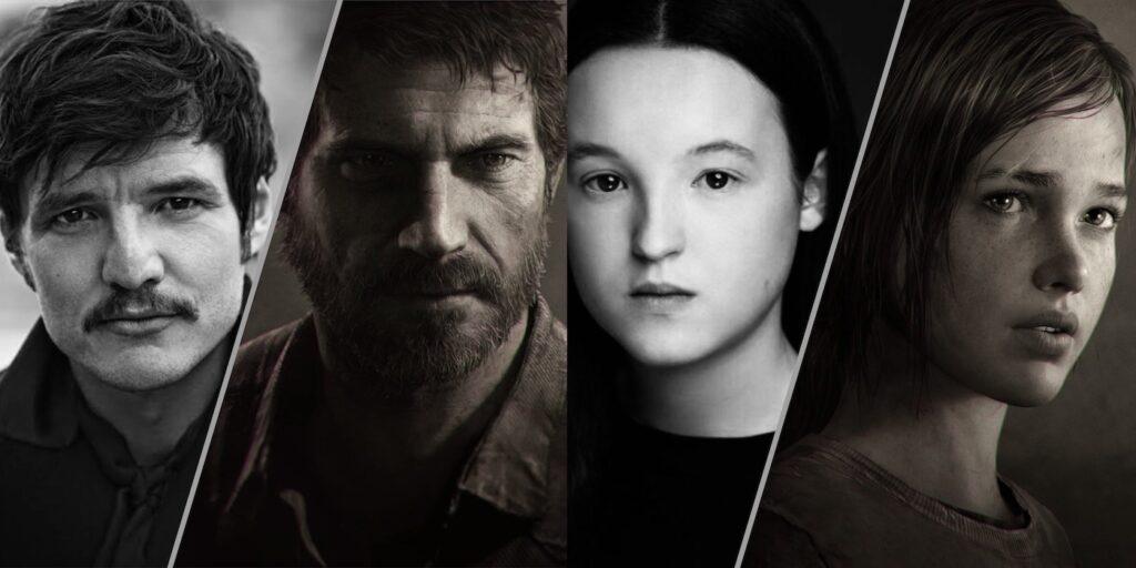 Pedro Pascal y Bella Ramsey en The Last of Us