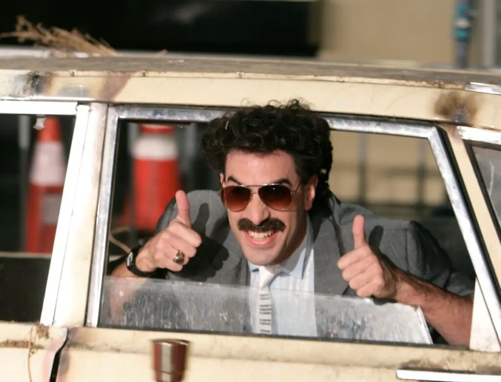 Golden Globes 2021 Borat 2 Sacha Baron Cohen