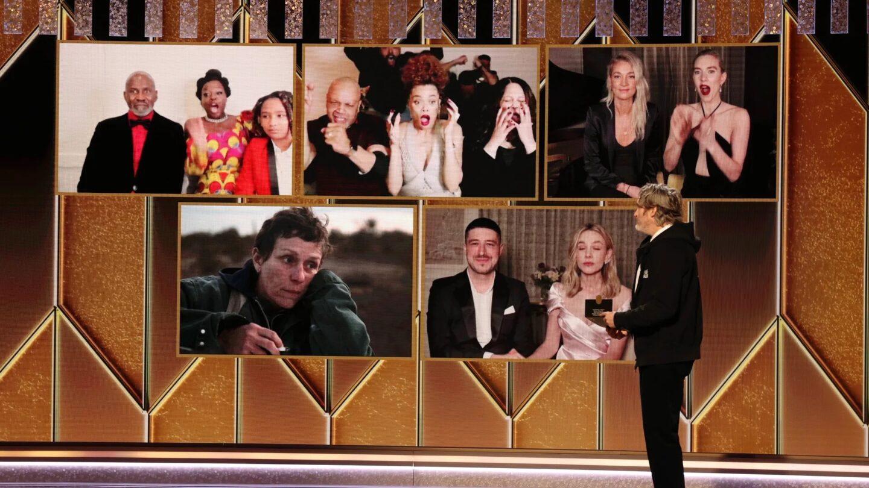 Premios Oscar zoom 2021 covid