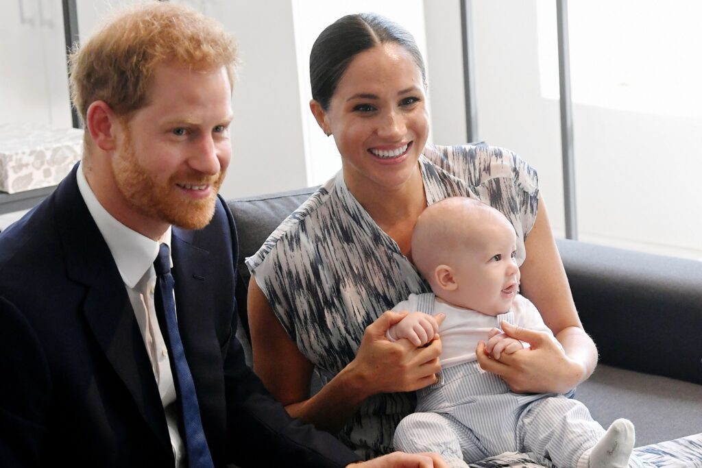 meghan markle harry and archie