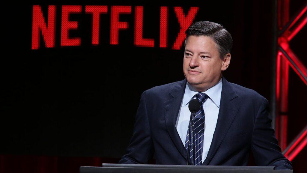 CEO de Netflix cines pandemia Ted Sarandos