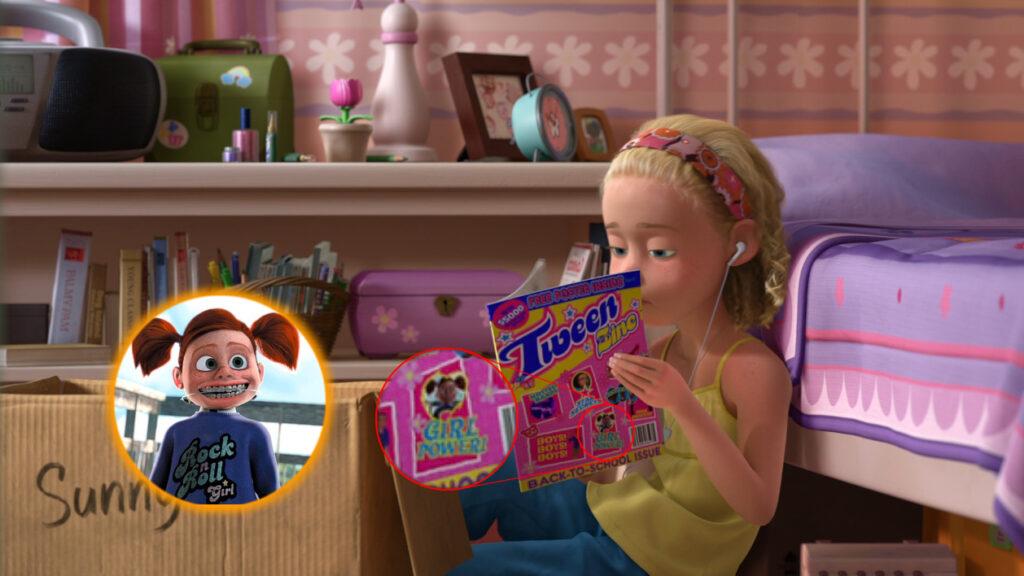 darla molly toy story 3 buscando a nemo