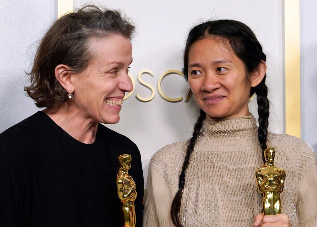 Frances McDormand y Chloé Zhao