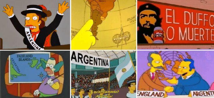 """""""Los Simpson"""" Argentina"""