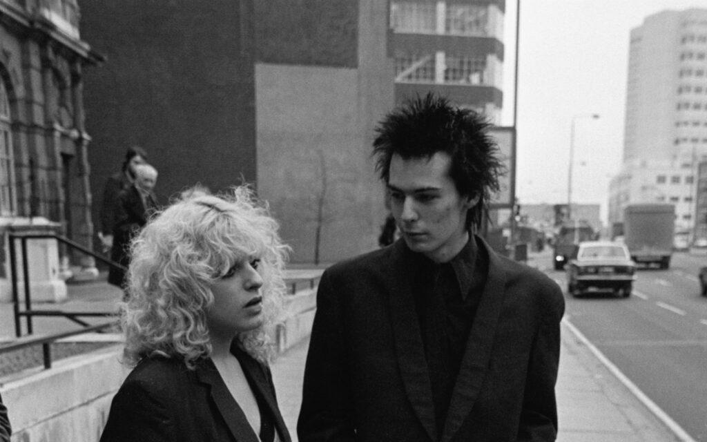 Sid Vicious y Nancy Spungen