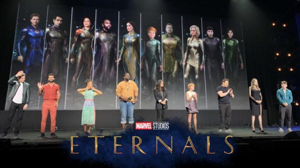 Eternals UCM Marvel Kevin Feige Gemma Chan