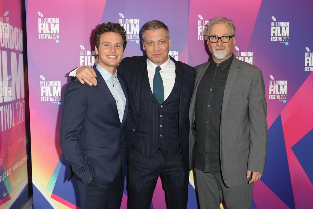 Jonathan Groff, Holt McCallany y David Fincher
