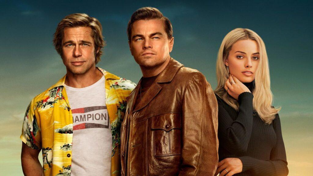 Leonardo DiCaprio, Brad Pitt y Margot Robbie en Once Upon A Time...In Hollywood