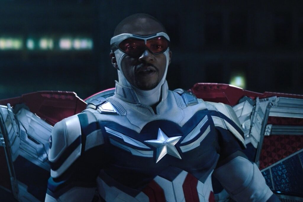 Capitán América 4 UCM Fase 5 Anthony Mackie