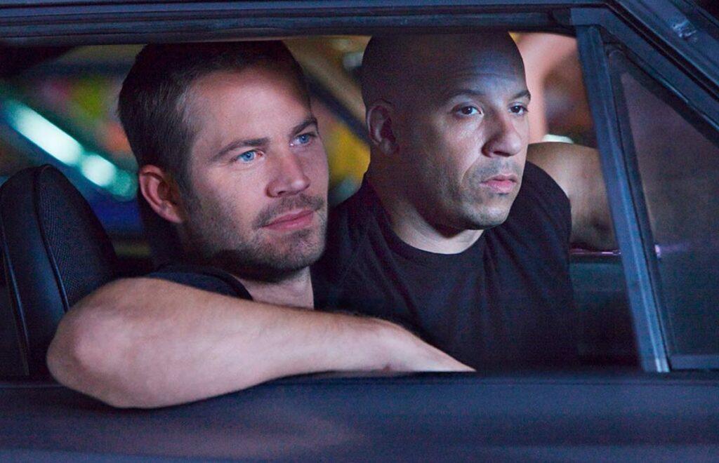 Paul Walker y Vin Diesel en Fast and Furious