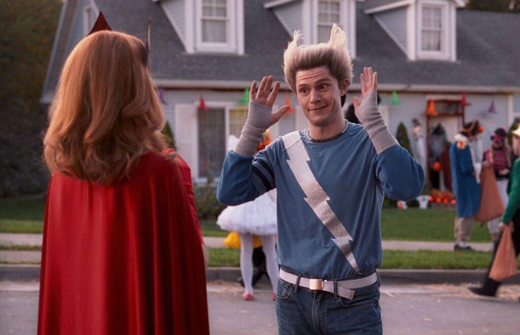 """Evan Peters """"WandaVision"""" explicación Pietro QuickSilver Marvel"""