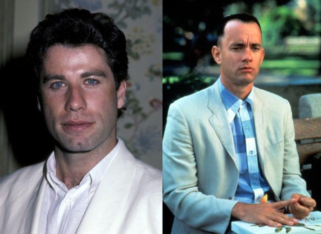 John Travolta y Forrest Gump