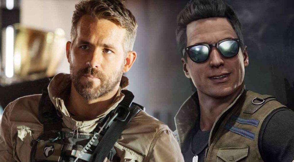 Ryan Reynolds y Johnny Cage